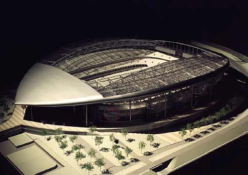 neues arena münchen